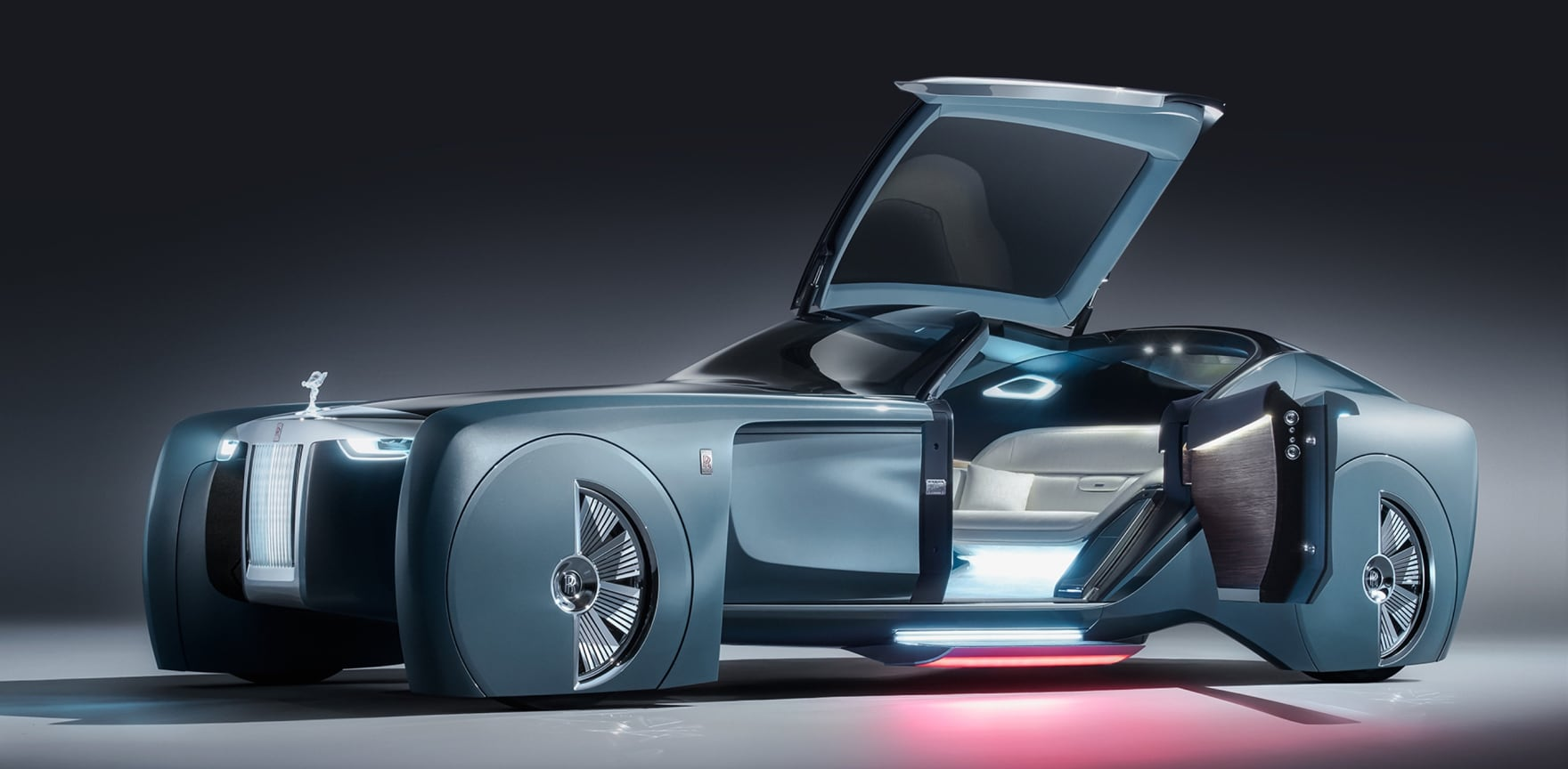 do you know about this rolls-royce 103ex 2035 vision next 100