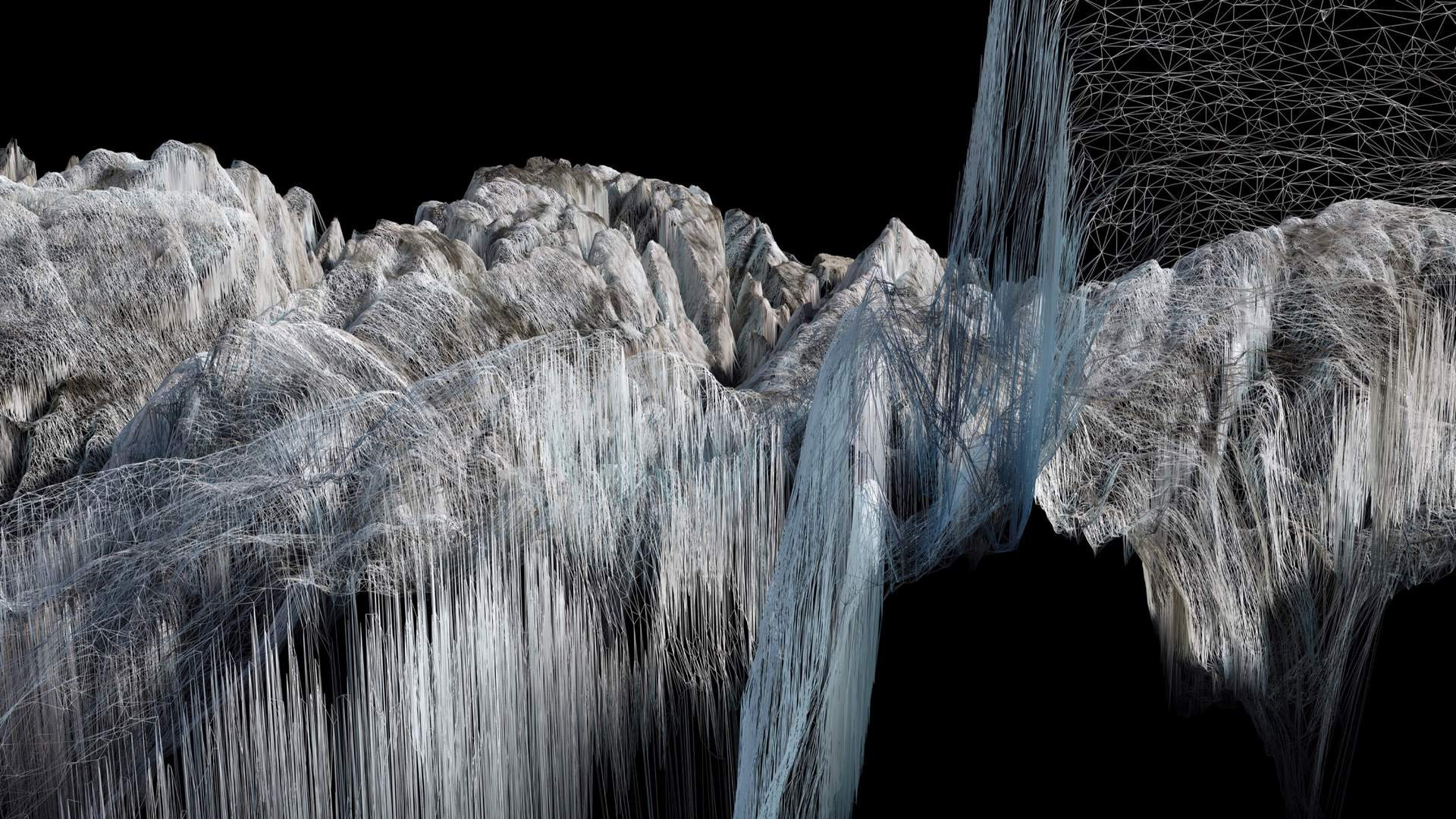 Glacier photographic art by Dan Holdsworth.