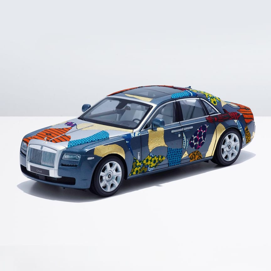See how 12 world-renowned artists transformed a Rolls-Royce Ghost into their own miniature works of art.