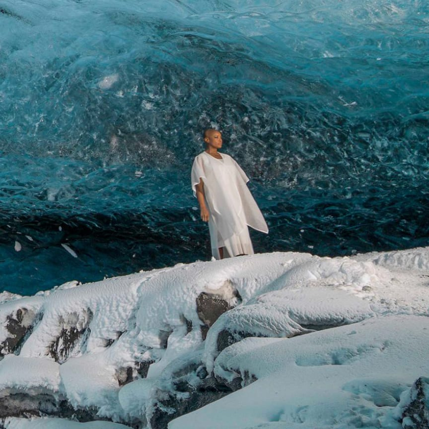 Commissioned as part of the Rolls‑Royce Art Programme, Isaac Julien's Stones Against Diamonds explores the subjects of beauty and natural creation within the landscape of Iceland.