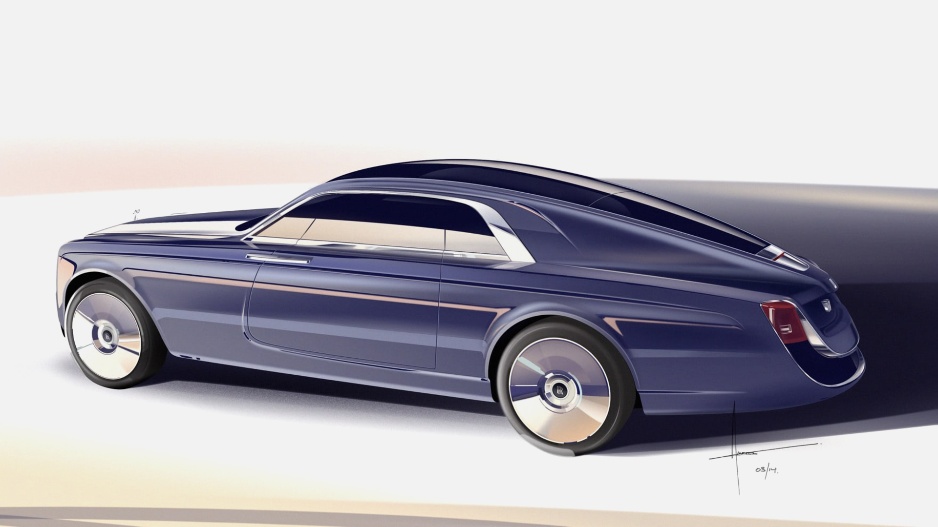 Rolls-Royce Swepttail side view