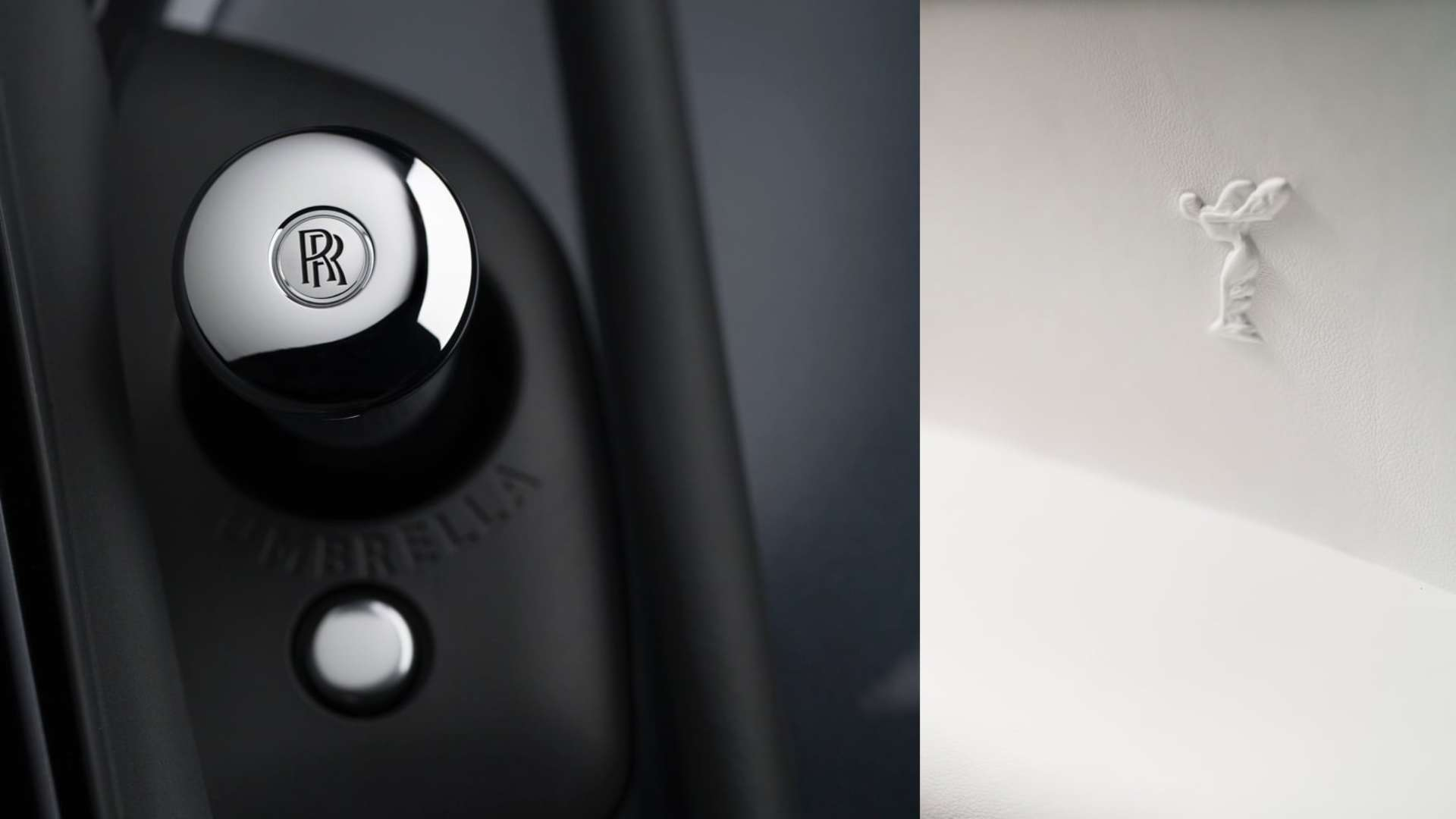 A close up of the interior detailing in a Rolls-Royce Cullinan motor car