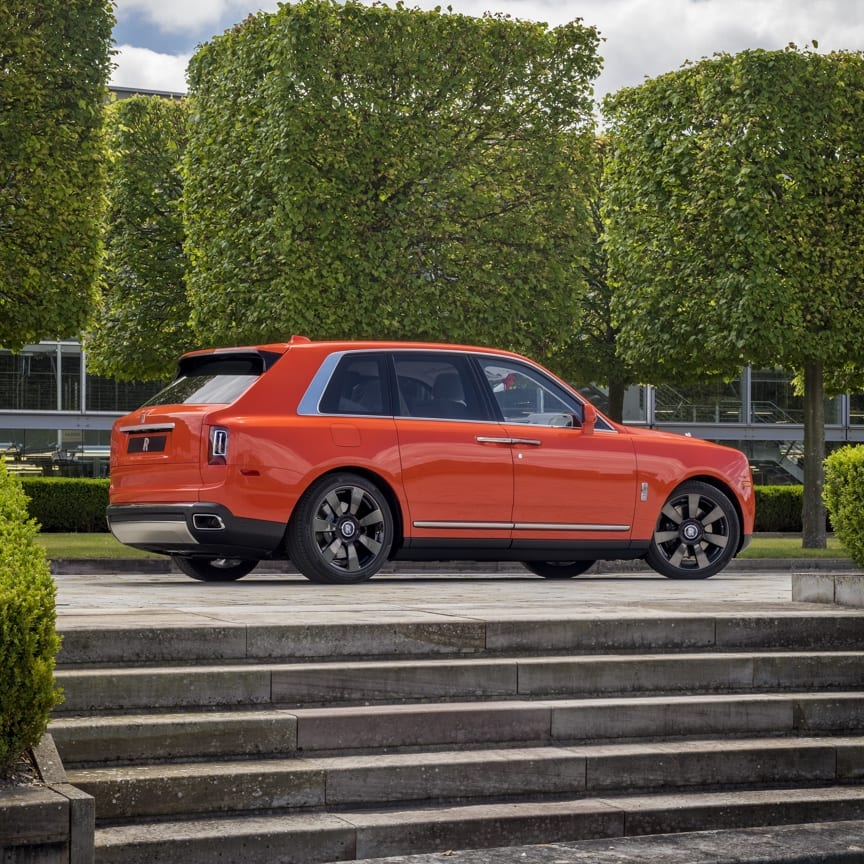 The most capable Rolls-Royce ever created, Cullinan stands as truly unique in history. Now, with our Bespoke service, it can be truly unique to you.