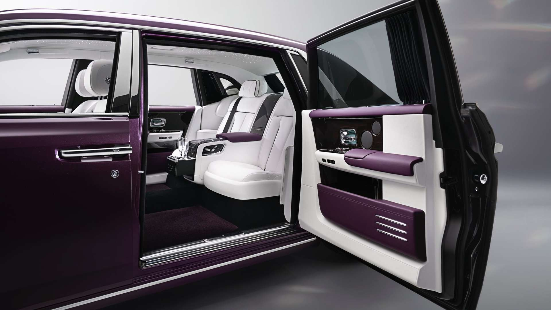 Coach doors of the Phantom extended wheelbase