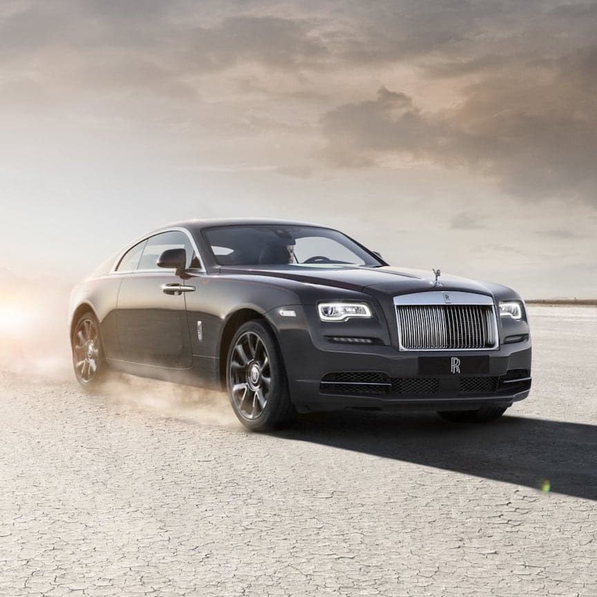 This is Wraith. The ultimate Grand Tourer, Wraith is a motor car for those with an insatiable thirst for adventure.