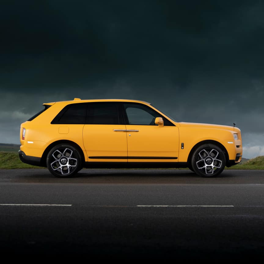 Rolls-Royce's Capella Black Badge Cullinan is inspired by a yellow star eighty times more dazzling than the sun.