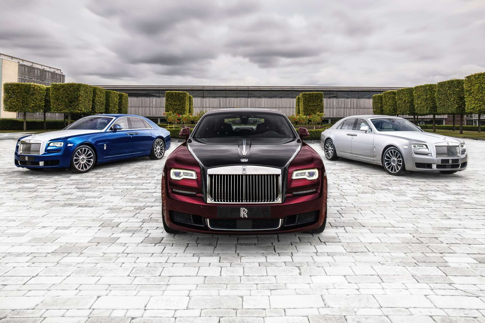 Exterior shot of the Rolls-Royce Ghost Zenith collection