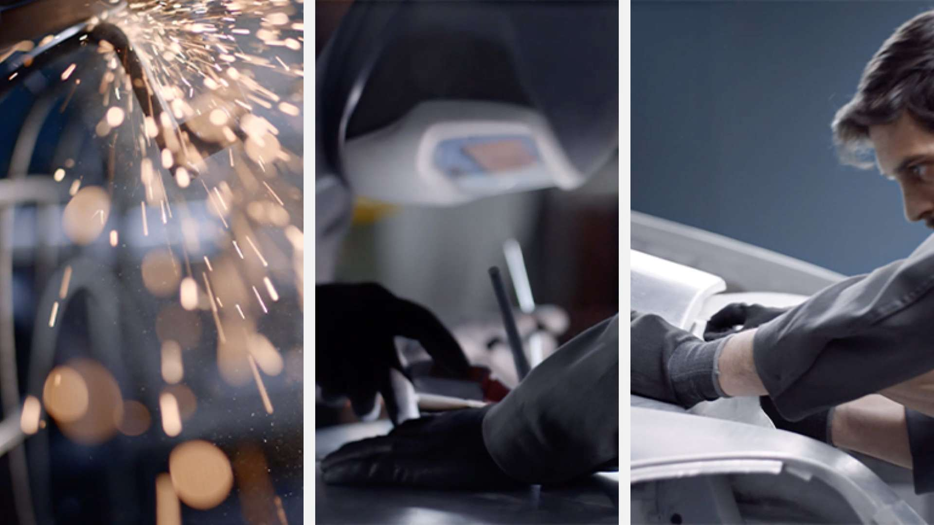 images of roll-royce bespoke manufacturing process