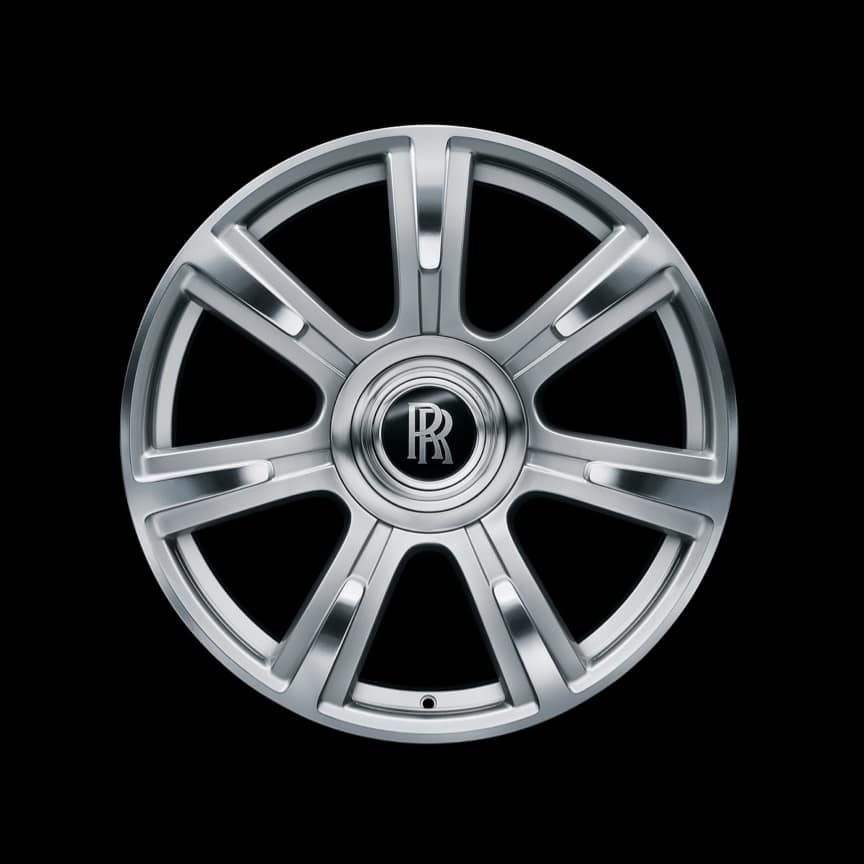 <p>Striking seven spoke design.&nbsp; Designed and constructed to the same exacting standards as our motor cars and available in highly contemporary, two tone part polished finish.</p>