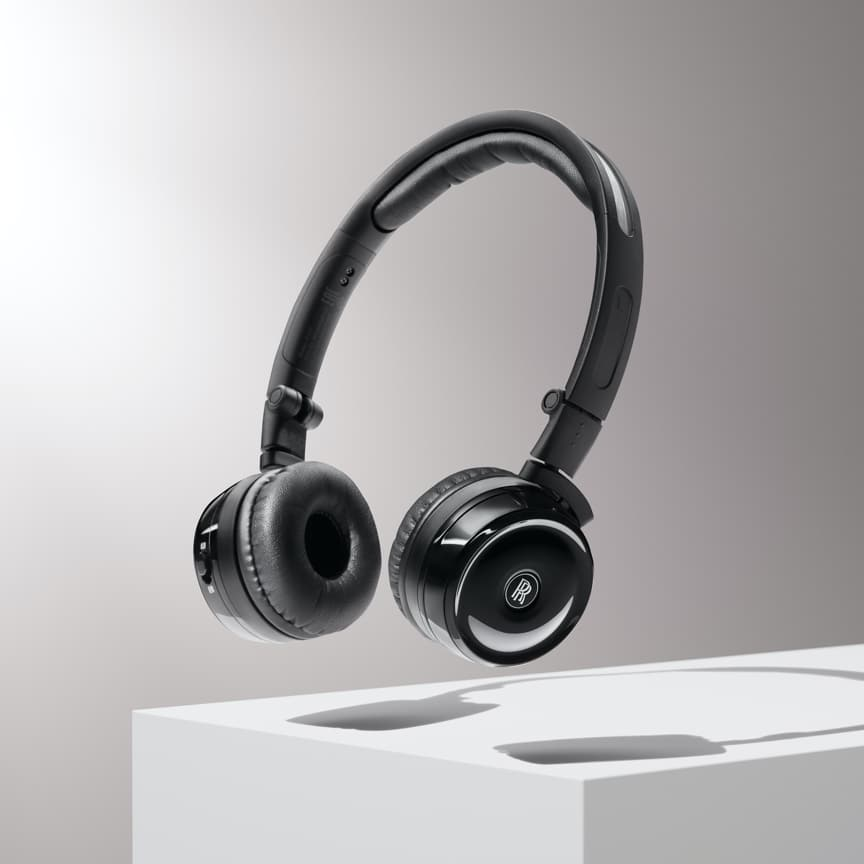 <p>A&nbsp;lightweight and versatile wireless headphone for your Roll-Royce motor car. Designed with Subtle Rolls-Royce branding and includes a hard shell case for storage when not in use. Connect up to three pairs of headphones for all the family to enjoy.</p>